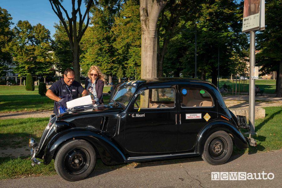 Fiat 508 C del 1939 Moceri/Bottini al Gp Nuvolari 2019