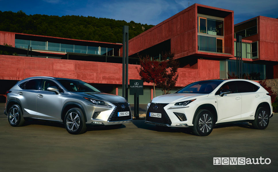 Lexus NX Luxury e NX F Sport
