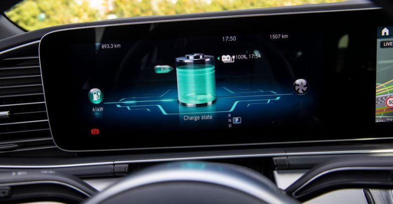 Livello carica batteria Mercedes-Benz GLE 350 de 4MATIC