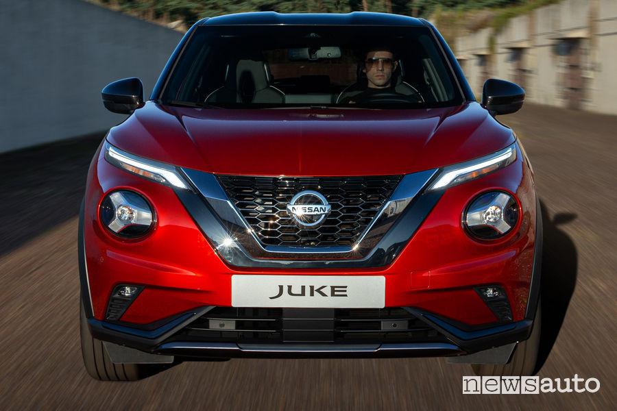 Nissan Juke 2020 mascherina anteriore