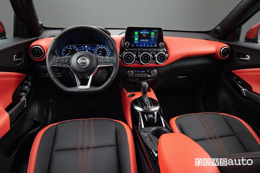 Nissan Juke 2020 plancia strumenti