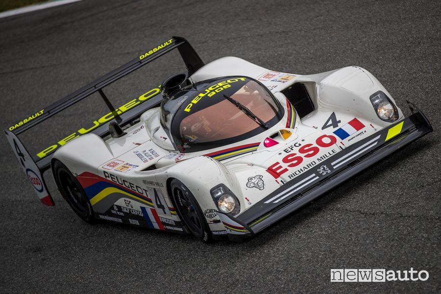 Peugeot 905 1993 gare auto storiche Monza Historic 2019