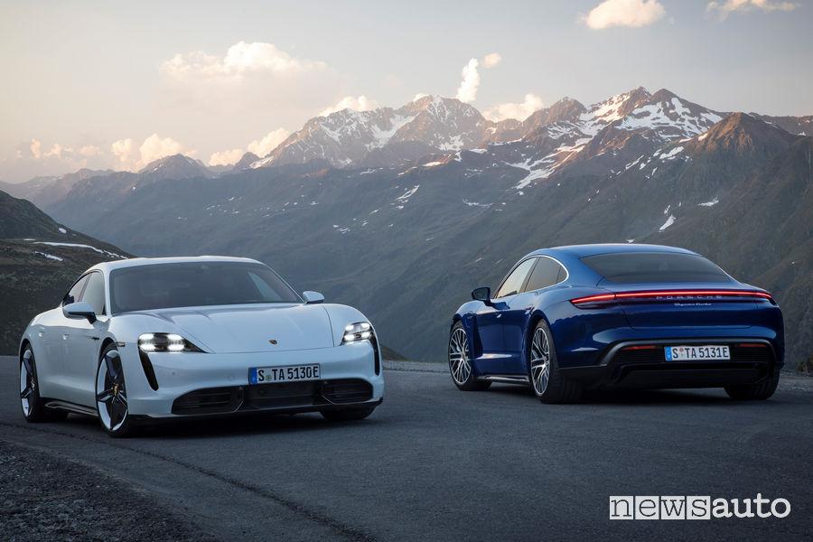 Porsche Taycan Turbo S e Taycan Turbo