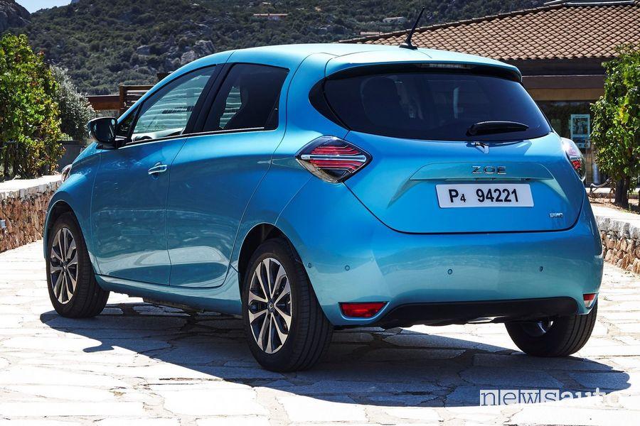 Paraurti posteriore Renault Zoe 2020