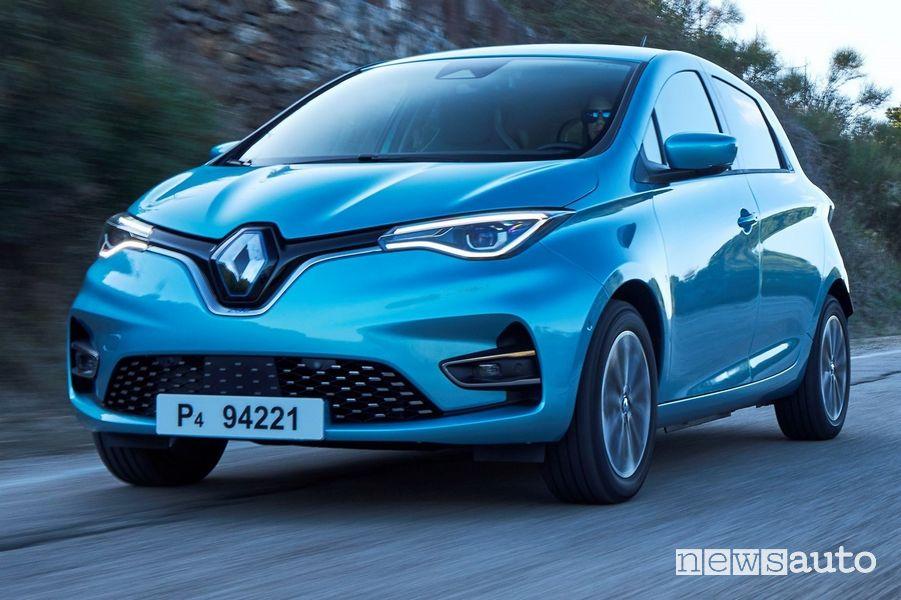 Frontale fari anteriori a LED Renault Zoe 2020