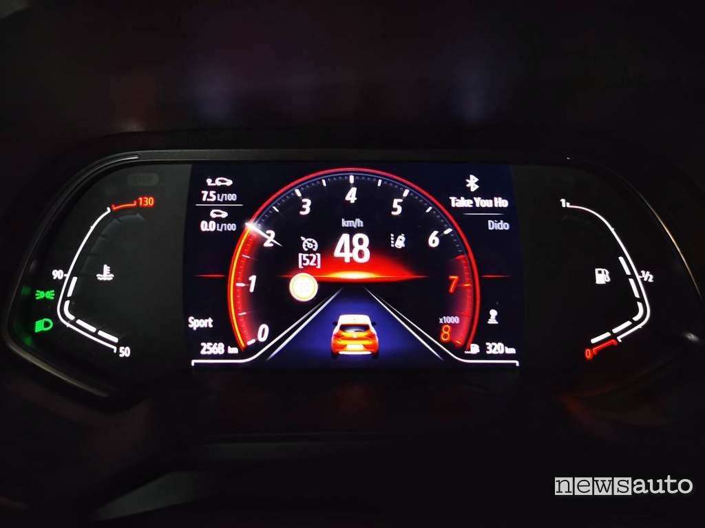 """Cruscotto digitale da 7"""" Renault Clio 2020"""