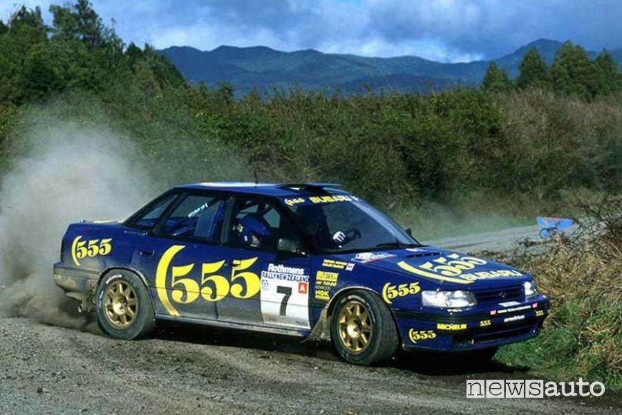 La Subaru Impreza monta il motore boxer