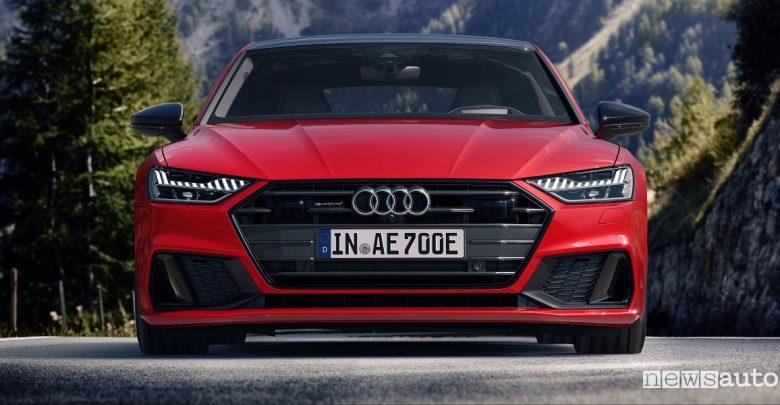 Audi A7 Sportback ibrida a benzina
