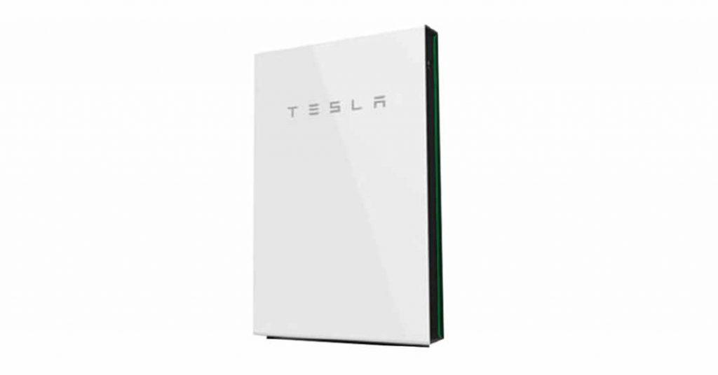 Batteria al litio di accumulo Tesla