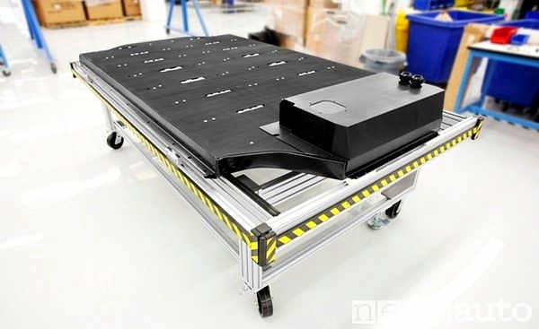 Batteria ioni di litio della Tesla con nuovo elettrodo NCA