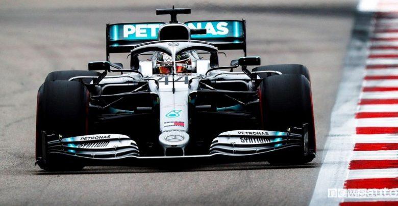 F1 Gp Russia 2019, doppietta e vittoria Mercedes