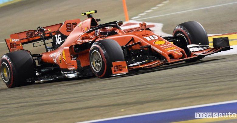 Qualifiche F1 Gp Singapore 2019