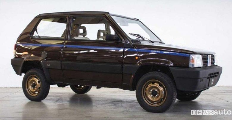 Fiat Panda 4x4 elettrica Icon-e Garage Italia