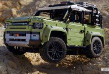 Photo of Fuoristrada giocattolo LEGO, nuovo Land Rover Defender