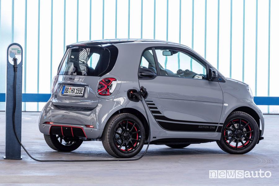 smart EQ fortwo coupé 2020 in ricarica da wallbox