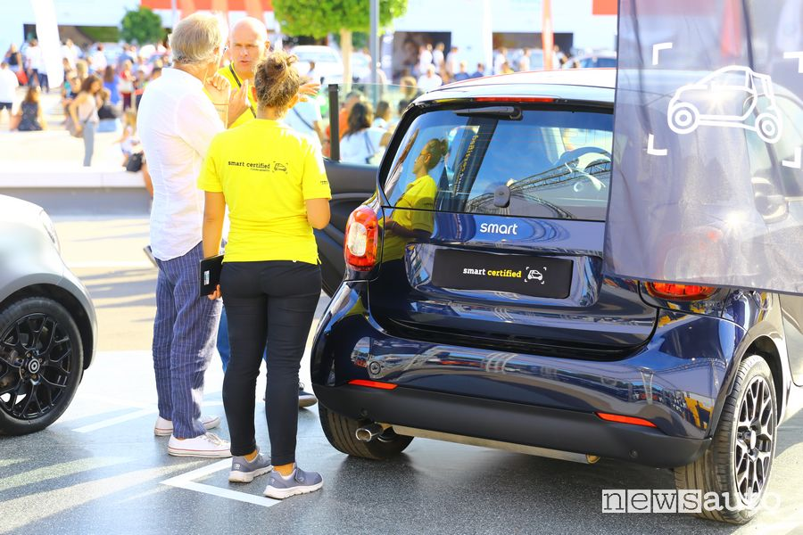 Auto usate smart Certified