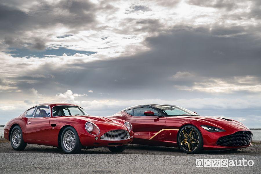 Aston Martin DB4 GT Zagato e DBS GT Zagato