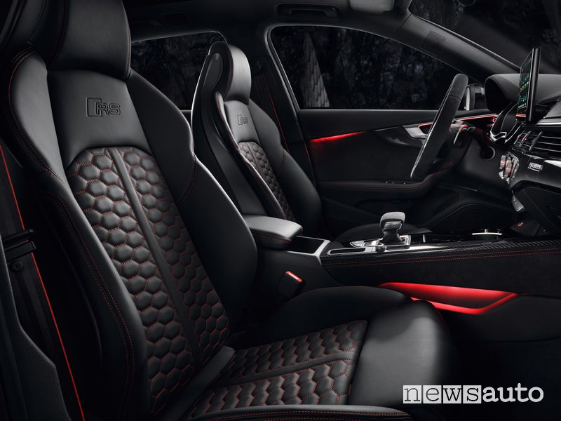 Sedili anteriori Audi RS4 Avant