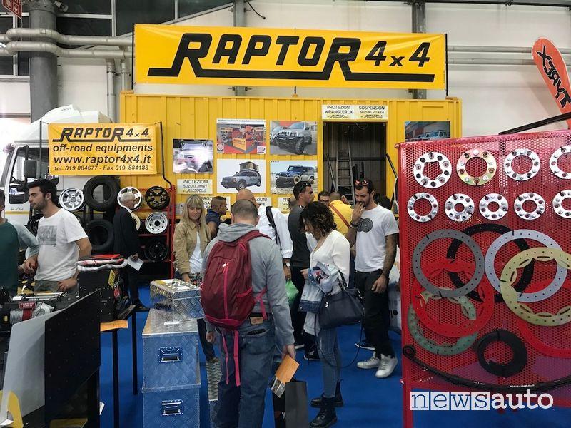 Stand Raptor Carrara 4x4 Fest 2019