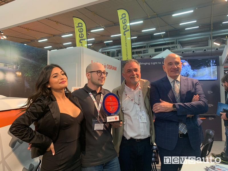 OSRAM Premio Best Innovation by FIF a Carrara 4x4 Fest 2019