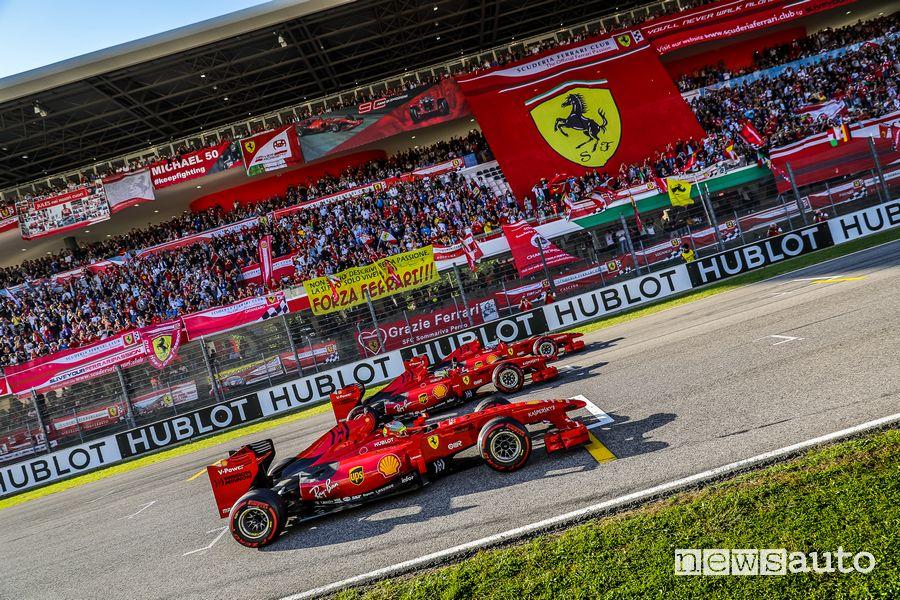 Gran Premio della Toscana Ferrari 1000 porte aperte pubblico