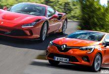 Photo of Ferrari F8 e Renault Clio, premio Auto Europa 2020