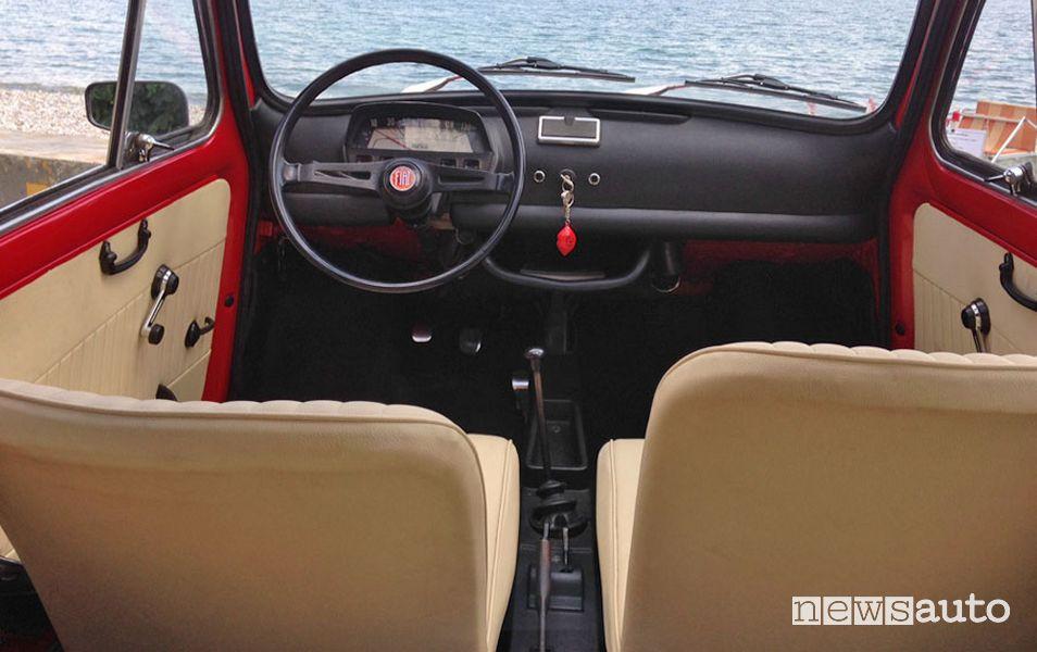 Fiat 500 storica levette aria e accensione