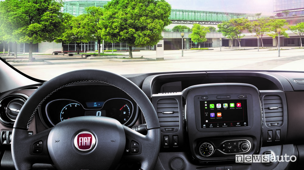 Apple CarPlay Fiat Talento