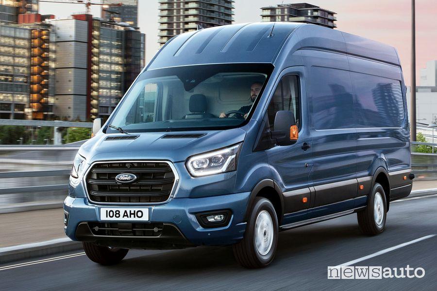 Fari anteriori Ford Transit 2 tonnellate