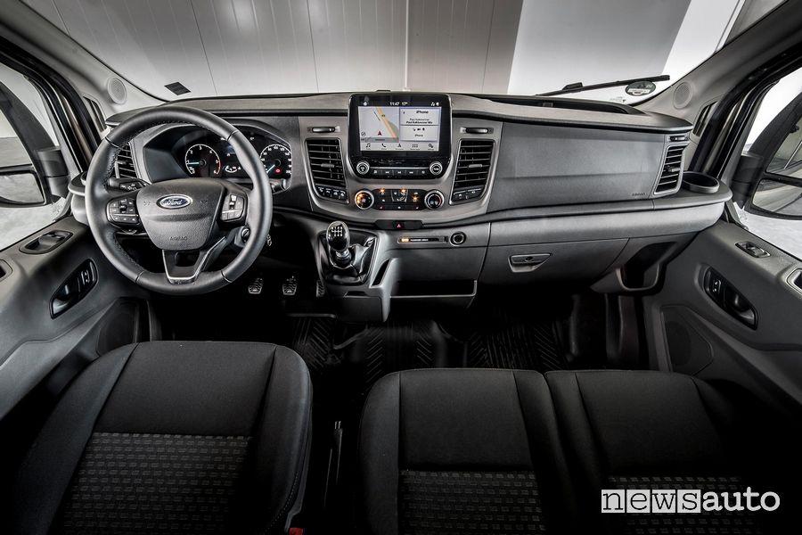 Volante plancia strumenti Ford Transit Double Cabine cambio manuale