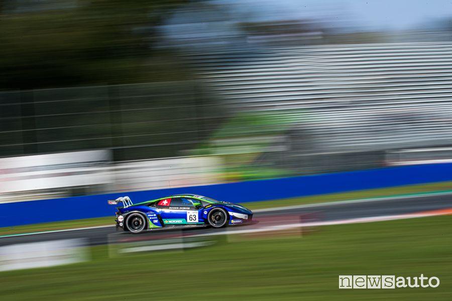 Huracan GT3 EVO auto da corsa Lamborghini