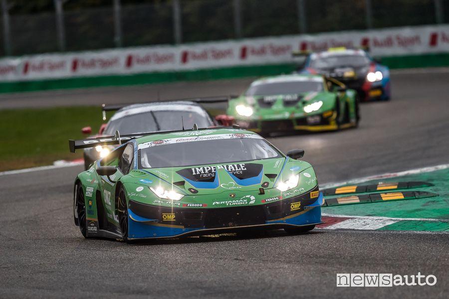 Lamborghini Huracan Imperiale Racing Campionato Italiano Gran Turismo Sprint Monza 2019