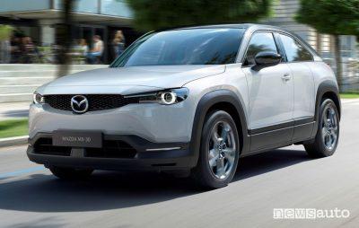 Mazda MX-30, quando conviene un'auto elettrica
