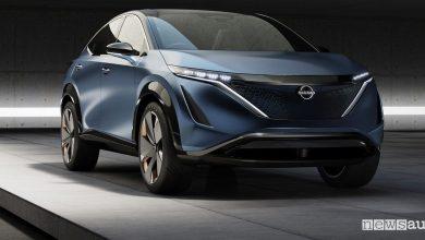 Photo of Crossover elettrico Nissan, come sarà attraverso le forme del concept Ariya