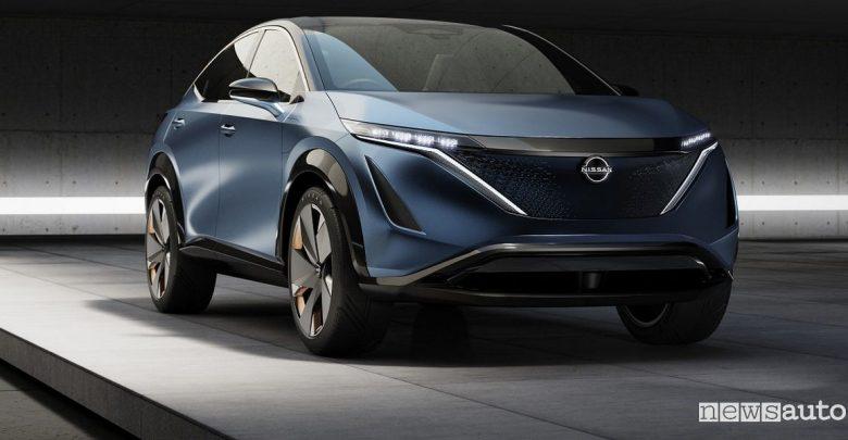 Crossover elettrico Nissan concept Ariya