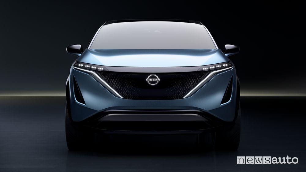 Vista anteriore concept Nissan Ariya