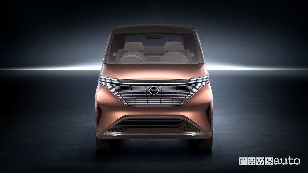 Frontale Nissan concept IMk