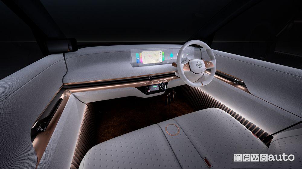 Abitacolo, comandi Nissan concept IMk