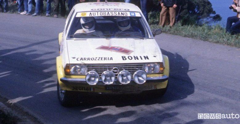 Opel Ascona rally Miki Biasion