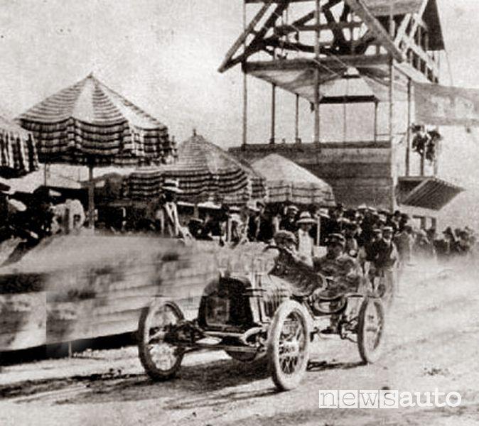 Peugeot alla Targa Florio del 1908