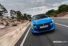 Peugeot e208 2020 anteriore