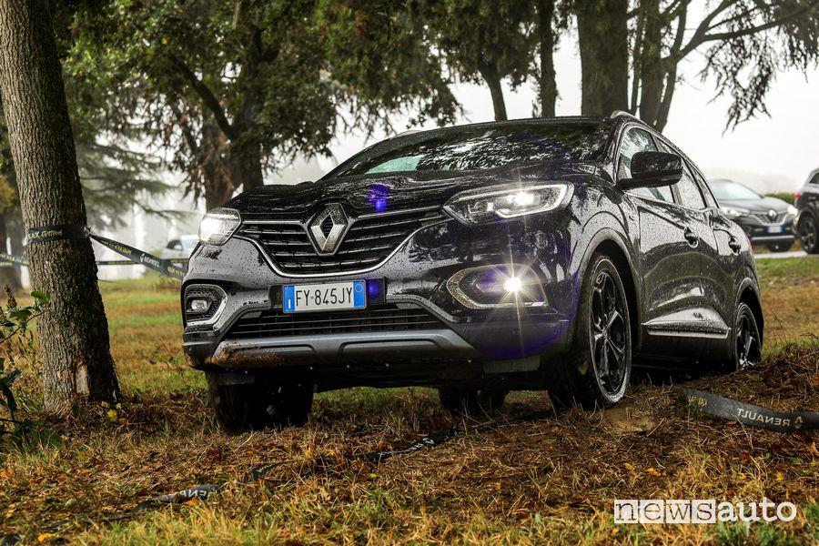Renault Kadjar 4x4 Black Edition prova in off road