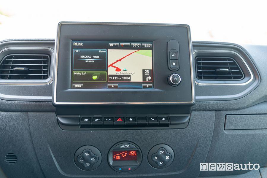 Navigatore Renault Master 2020
