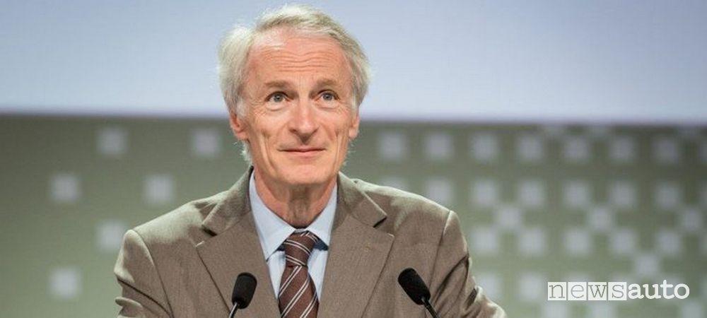 Jean-Dominique Senard, Presidente ad interim di Renault