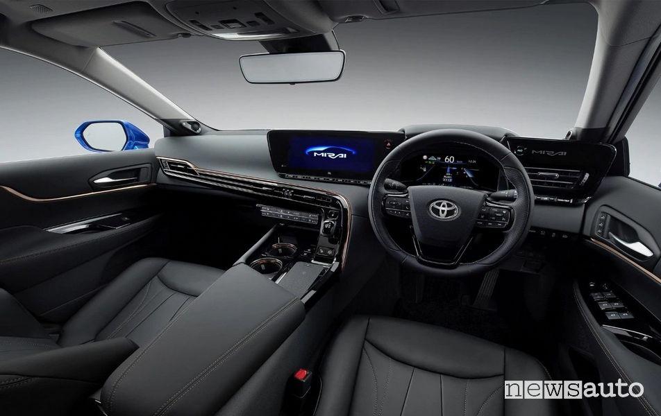 "Volante touch screen 12,3"" Toyota Mirai Concept 2020"