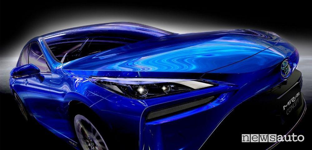 Faro anteriore Toyota Mirai Concept 2020