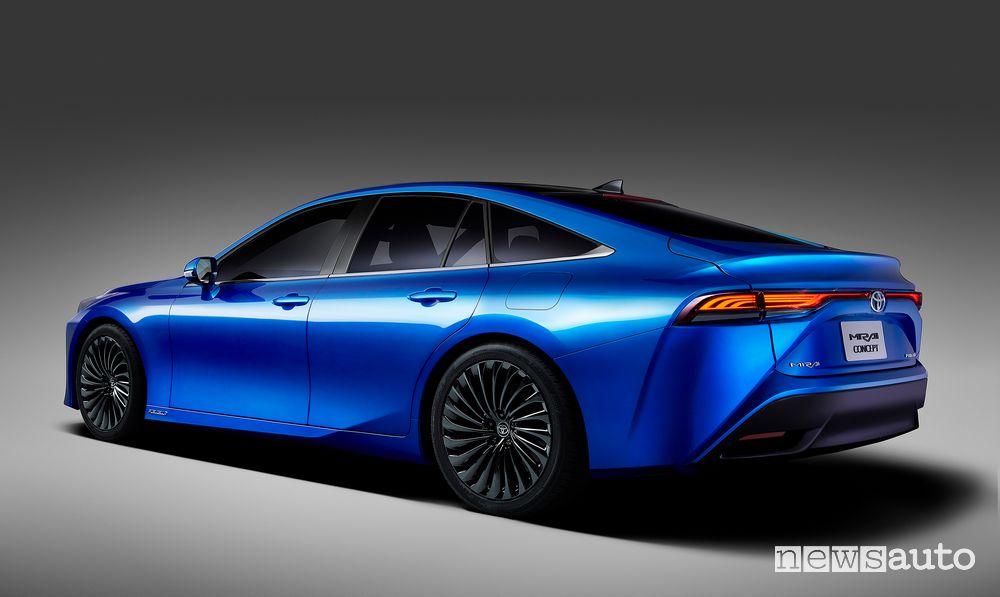 Cerchi in lega fari posteriori Toyota Mirai Concept 2020