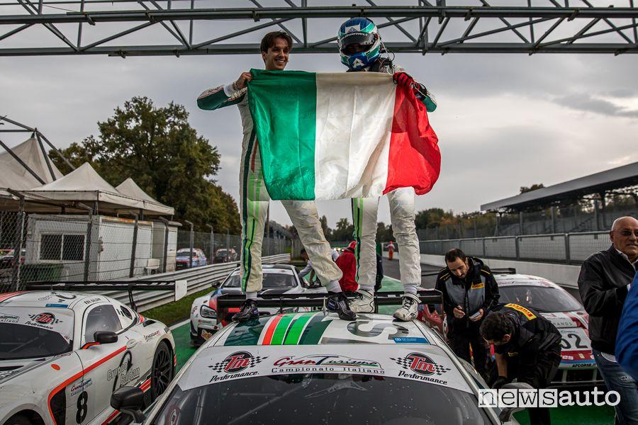Agostini/Rovera Mercedes-AMG GT3 vincitori Campionato Italiano Gran Turismo Sprint 2019