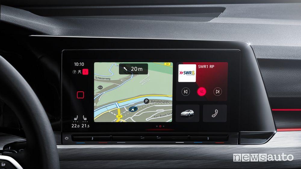 Navigatore Volkswagen Golf 8 2020