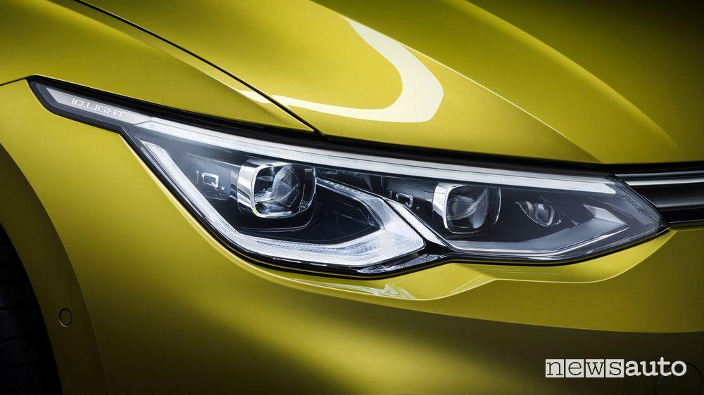 Faro anteriore a LED Volkswagen Golf 8 2020